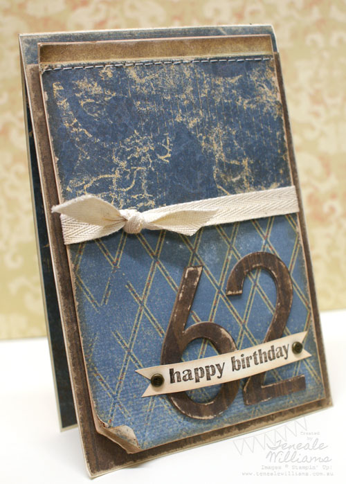 Teneale Williams, stampin up, Stampin' Up!, Male, Masculine, Birthday