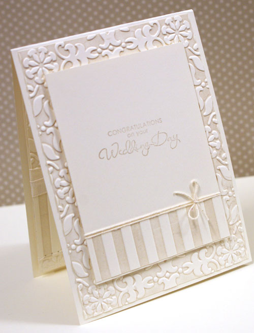 Teneale Williams, Wedding Card, Inside, Stampin; Up, Australia