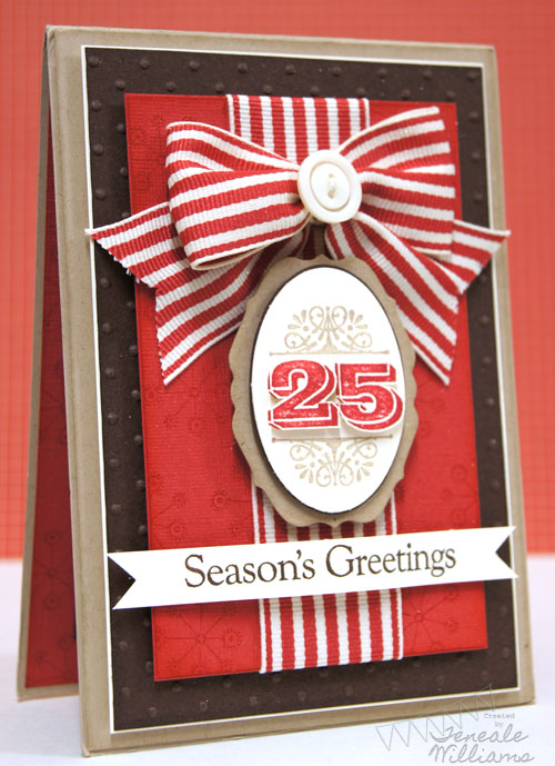 Christmas Card, Teneale Williams, Merry & Type