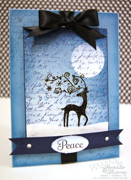 Christmas, Stampin' Up!, Brayer, Teneale Williams