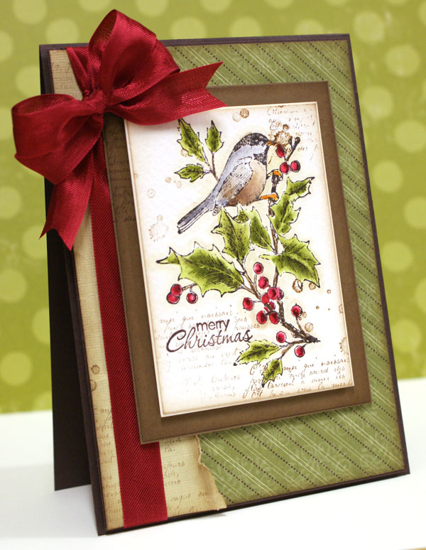 Christmas Card, Stampin' Up!, Teneale Williams, Australia,