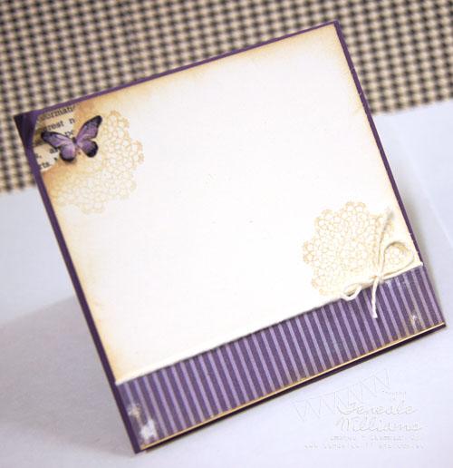 Card Set. Stampin' Up!, Teneale Williams, Newsprint, Thank you, Kindness Matters