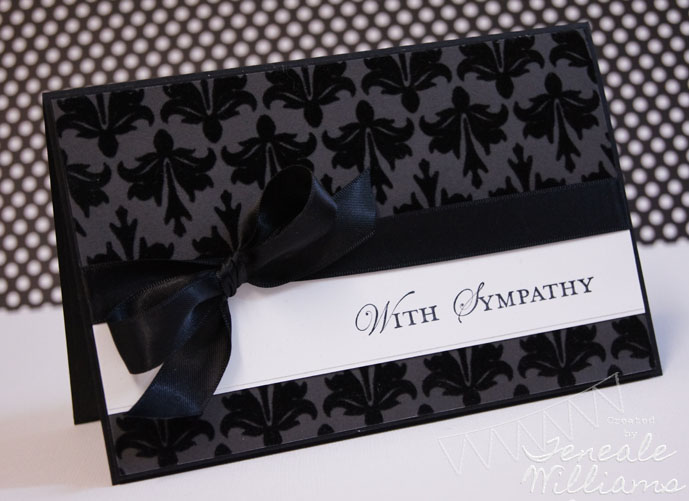 Teneale Williams, Elegant, Stampin' Up!, SU!, Loving Thoughts, Sympathy Card, Sydney