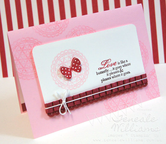 Stamp a stack, SAS, Stampin' Up!, Teneale Williams, Card Class Sydney, Butterfly Prints, Delicate Dollies, flight of the butterfly