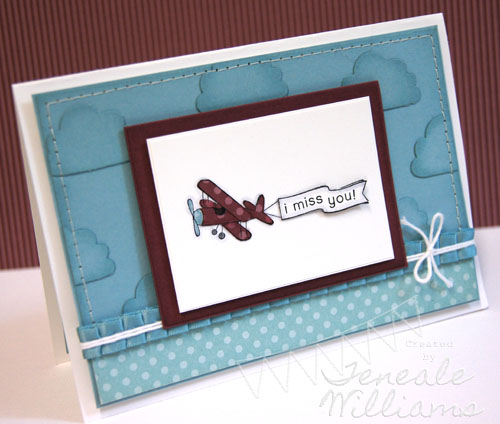 Faux dry embossing, Stampin' Up!, Cupcake Punch, Teneale Williams, Card Class, Ain't  Love Grand