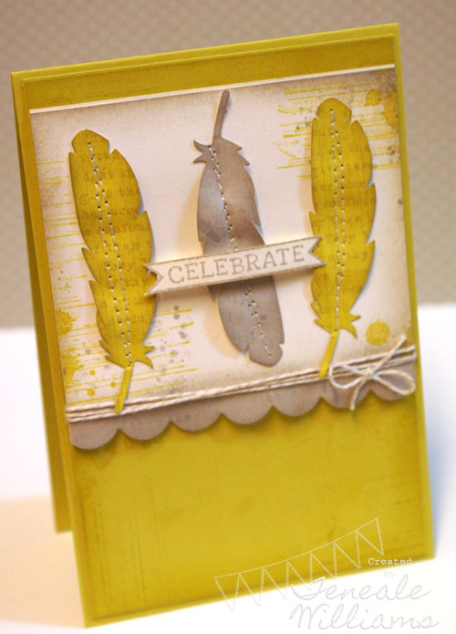 By Teneale Williams for Case Study 143. #stampinup