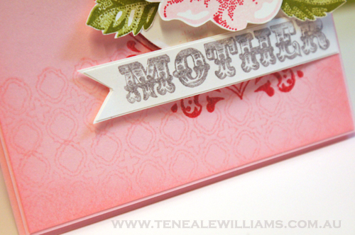 Amazing Family & Background Builders Stamp Set Stampin' Up! By Teneale Williams.