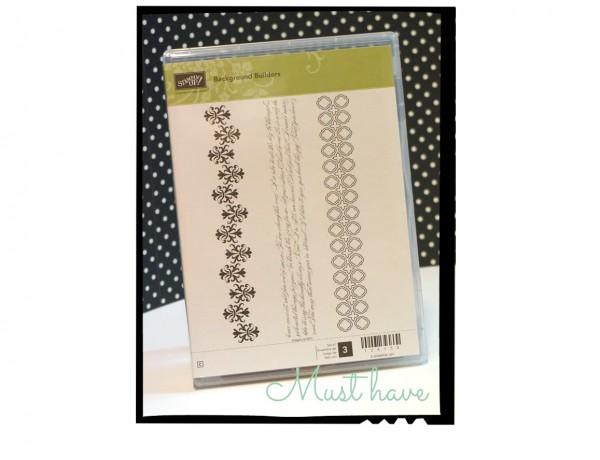 Must have Stamp Set by #stampinup #backgroundbuilders