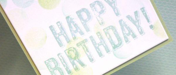 Happy Birthday Confetti Card By Teneale Williams