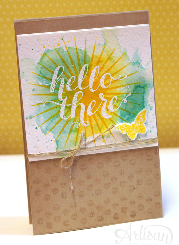 By Teneale Williams| Kinda Eclectic| Stampin' Up! Artisan DT 2014