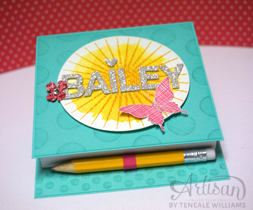By Teneale Williams| Kinda Eclectic Stamp Set from Stampin' Up!