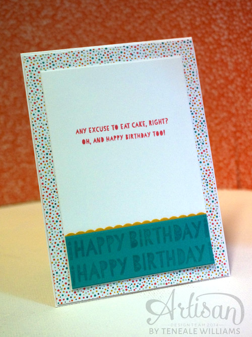 By Teneale Williams| Inside the card