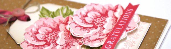 Teneale WIlliams | INKspired Sketch Challenge 3 #INK003 | Stripped Blossom