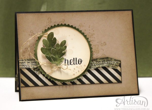 Teneale Williams | Masculine cards are tricky to create but if you keep a little TLC   (Texture, Layers, Colour)
