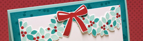 Teneale Williams | Stampin' Up! Wondrous Wreath Stamp Set