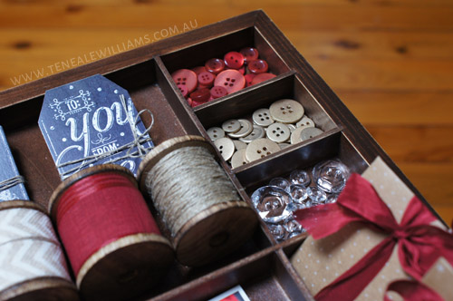 Teneale Williams | Stampin' Up! Artisan Blog Hop | Buttons and Bows