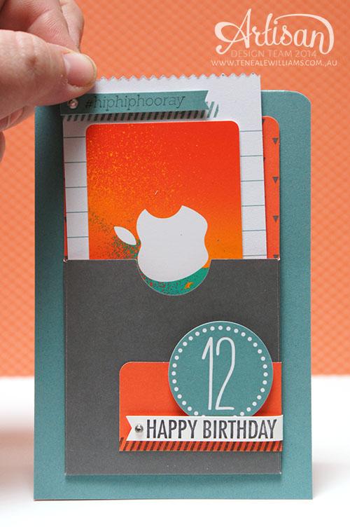 www.tenealewilliams.com.au   Artisan Blog Hop   Using Simply Created Gratitude for Days Kit