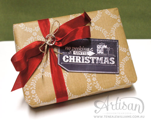Teneale Williams | Stampin' Up! Artisan Blog Hop | Use My Digital Studio for quick Christmas Solutions