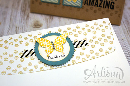 By Teneale Williams |Stampin' Up! |Kinda Eclectic
