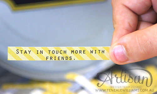 Teneale Williams | My Digital Studio | 2015 Resolutions - Stay in touch more with friends