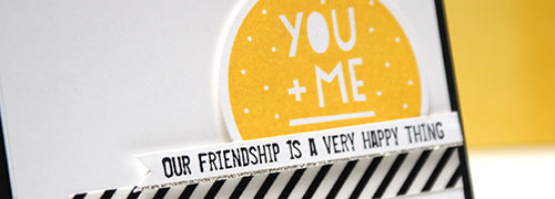 Teneale Williams | Stampin' Up! Artisan Blog Hop | Friendship Valentine's Day Card