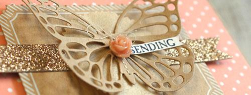 Teneale Williams | Stampin Up! Artisan Blog Hop | Butterflies Thinlits Die