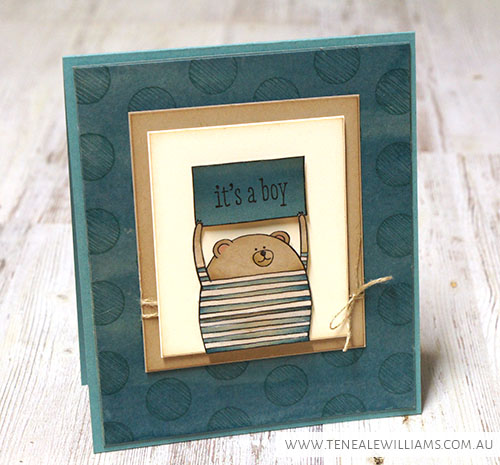 By Teneale Williams   Stampin Up!  Artisan Blog Hop   Cheerful Critters