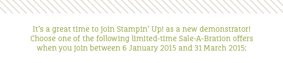 Teneale Williams | Stampin' Up! Australia
