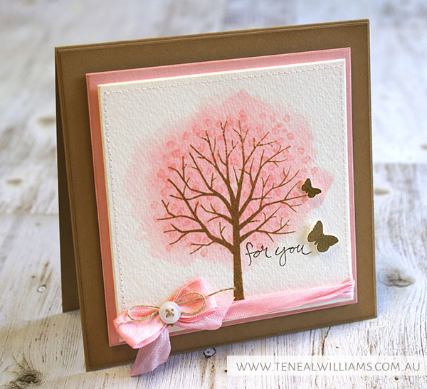 By Teneale Williams | Stampin' Up! Artisan Blog Hop | Sheltering Tree