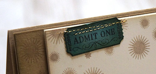 By Teneale Williams   Stampin'Up! Artisan Blog Hop   That's the Ticket