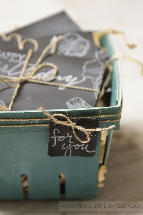 By Teneale Williams | Handpicked Framelits Dies | Stampin'Up!