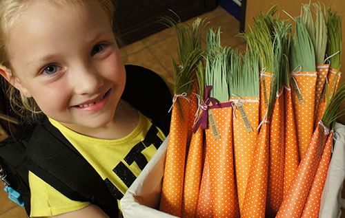 By Teneale Williams | Long Carrots