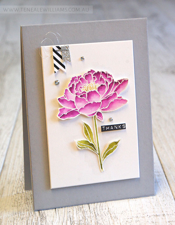 By Teneale Williams | You've Got This | Stampin' Up! Artisan Blog Hop