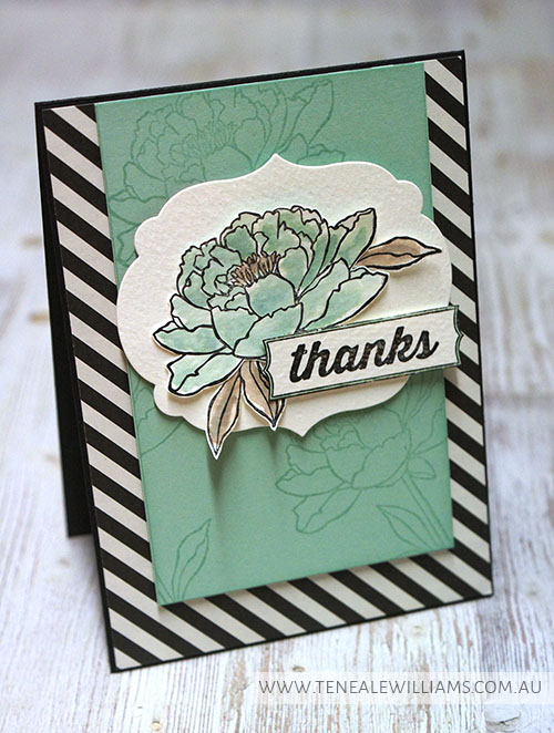"BY Teneale Williams | ""You've Got This"" from Stampin' Up! 