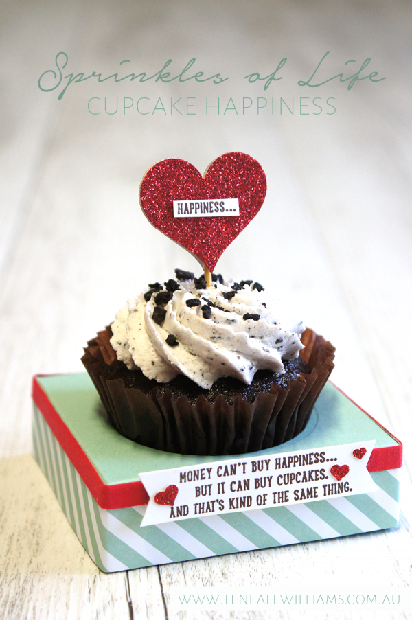 By Teneale Williams | Cupcake Happiness with Sprinkles of Life Stamp Set from Stampin' Up!