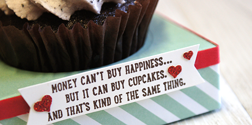 By Teneale Williams   Cupcake Happiness with Sprinkles of Life Stamp Set from Stampin' Up!