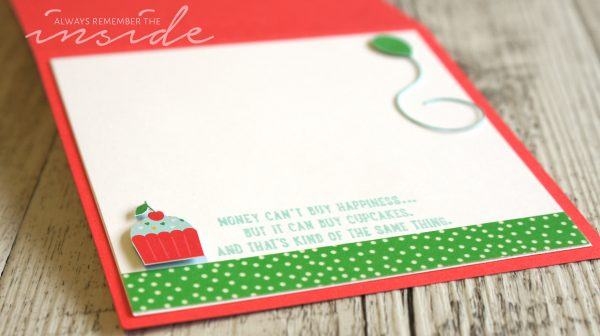 By Teneale Williams | Stampin' Up! Artisan Blog Hop | Cherry on Top DSP and Sprinkles of life