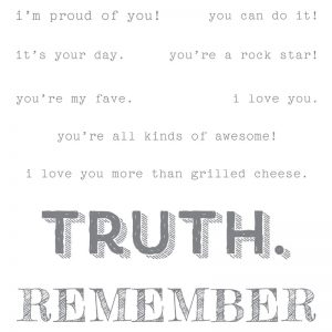 Stampin' Up! Words of Truth Clear mount