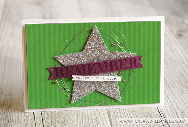 By Teneale Williams | Stampin' Up! Artisan Blog Hop | Words of Truth Stamp Set