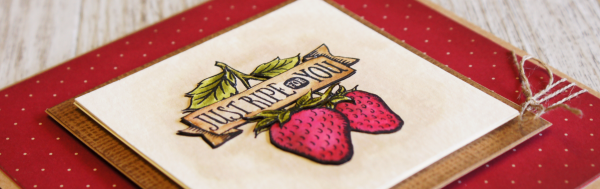 By Teneale Williams | Stampin'Up! Artisan Blog Hop | Market Fresh Stamp Set