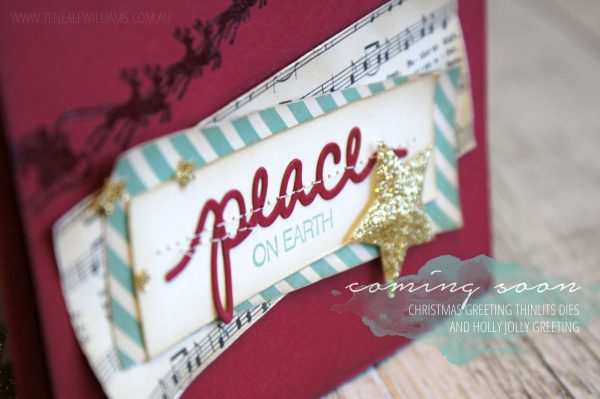 Teneale Williams | All Stampin' Up Materials Used | INKspired Sketch 22 #INK022 | Cozy Christmas and Holly Jolly Greetings  from Stampin' Up! Holiday Catalogue