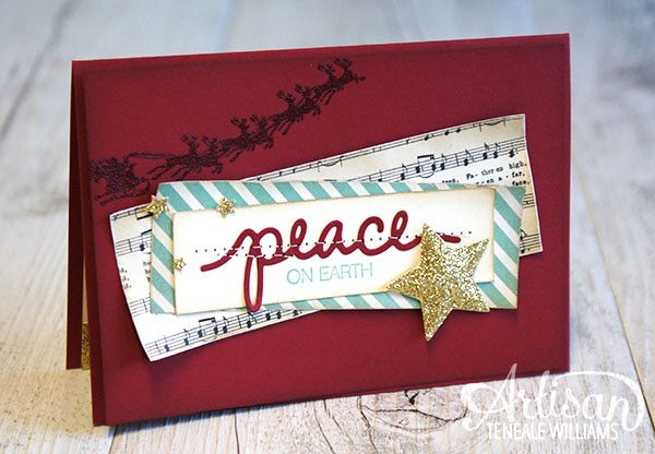 Teneale Williams  | INKspired Sketch 22 #INK022 | Cozy Christmas and Holly Jolly Greetings  from Stampin' Up! Holiday Catalogue