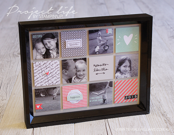 Project Life By Stampin' Up! | Moments Like These Card Collection