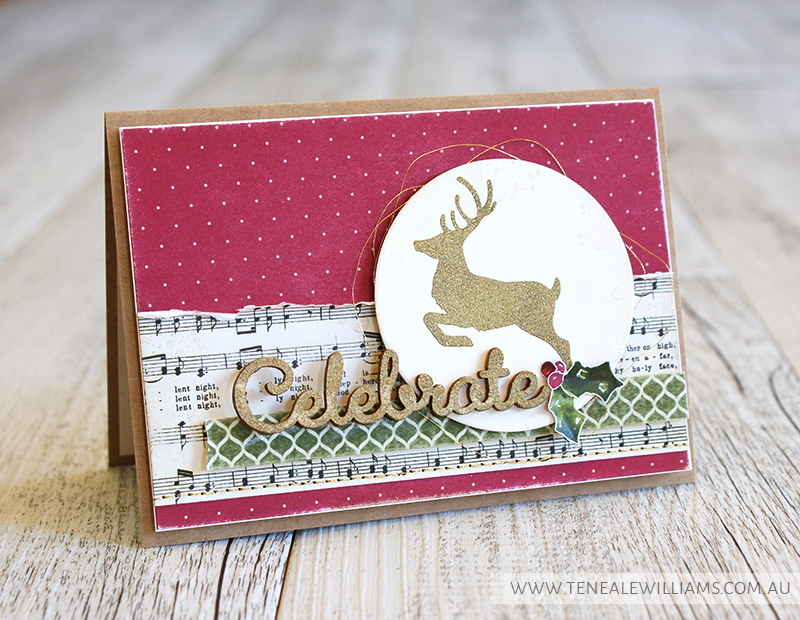 By Teneale Williams | TGIF Challenge 20 | All Stampin Up! Materials Jolly Christmas Versatile Christmas Stamp Sets