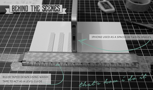 Teneale Williams | New blog series That's How I Do It | a look behind the scenes to adding little details to your papercraft creations