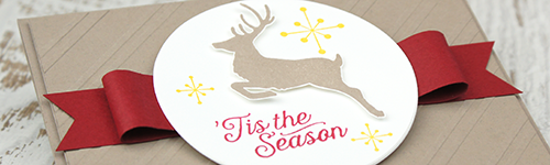 By Teneale Williams | Christmas cardmaking 2015 using Stampin Up Products | Jolly Christmas