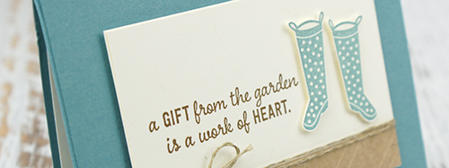 By Teneale Williams | Hand made greeting cards using stamps from Stampin' Up! | Gift From The Garden Stamp Set