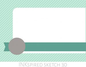 Designed By Teneale Williams | INKspired Sketch 30 | 29th November 2015