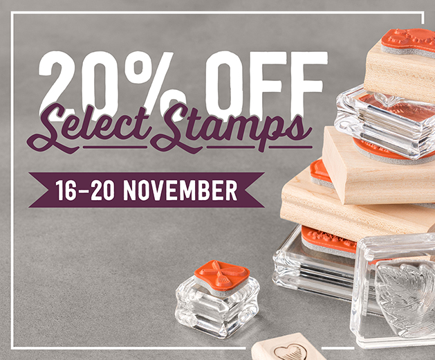 Teneale Williams Stampin Up Demonstrator | Save 20% on selected stamp sets