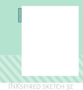 Sketch by Teneale Williams | INKspired Blog Hop 32